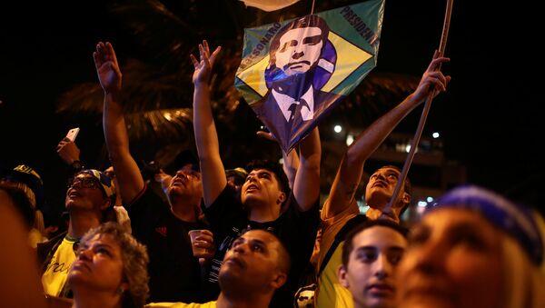 Segidores de Jair Bolsonaro - Sputnik Mundo