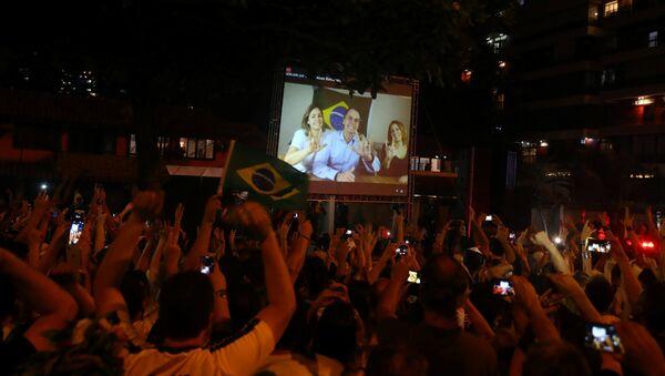 Discurso de Jair Bolsonaro, presidente electo de Brasil - Sputnik Mundo