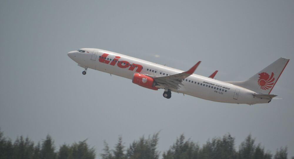 Un Boeing 737 Max 8 de la aerolínea indonesia Lion Air (archivo)