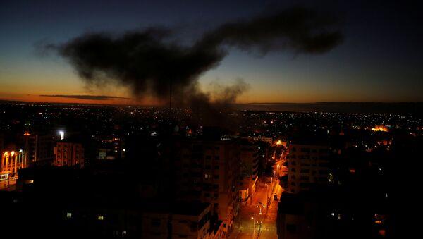 Ataque de Israel en Gaza (Archivo) - Sputnik Mundo