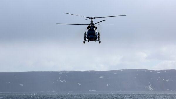 Un helicóptero Kamov, imagen referencial - Sputnik Mundo