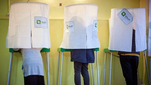 Elecciones presidenciales de Georgia - Sputnik Mundo