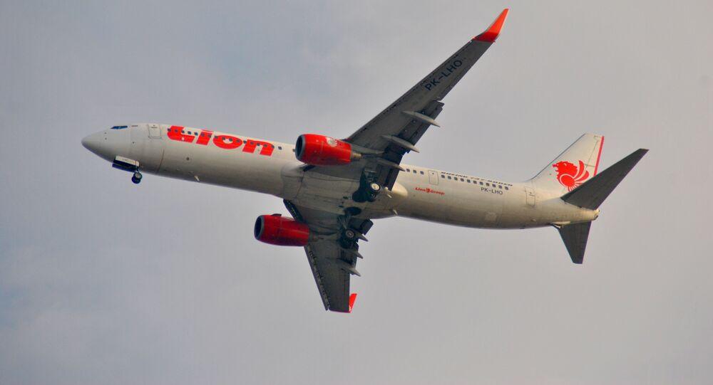 Un Boeing 737 de la aerolínea indonesia Lion Air (archivo)