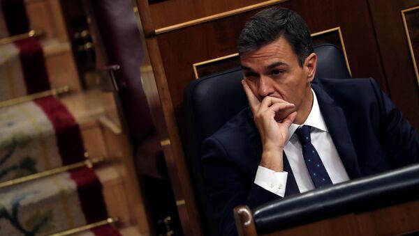 Pedro Sánchez, el presidente del Gobierno de España - Sputnik Mundo