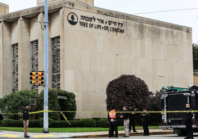 La sinagoga Tree of Life en Pittsburgh, EEUU