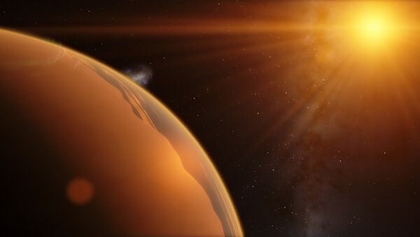 Exoplaneta (ilustración gráfica) - Sputnik Mundo
