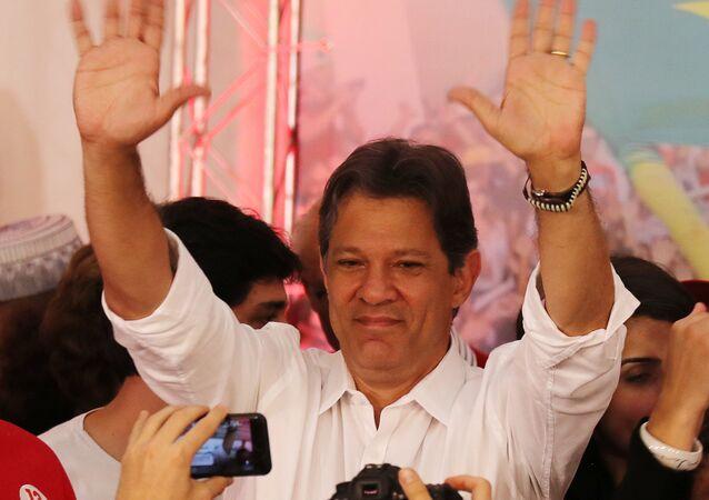Fernando Haddad, candidato presidencial brasileño Fernando Haddad, candidato presidencial brasileño