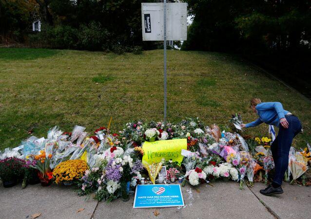 Un homenaje a las víctimas del ataque en sinagoga en Pittsburgh (imagen referencial)