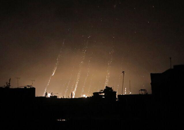 Uso del fósforo en Siria (archivo)