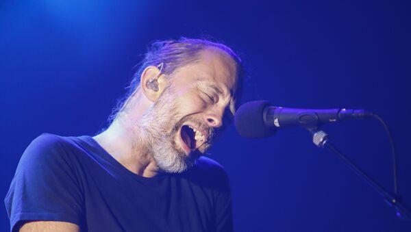 Thom Yorke, líder de Radiohead - Sputnik Mundo
