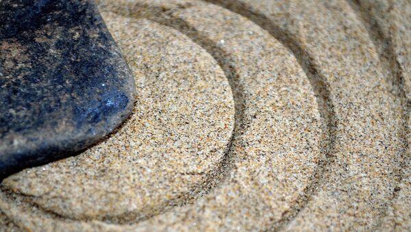 Una piedra, imagen referencial - Sputnik Mundo