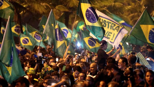 Partidarios del presidente electo de Brasil, Jair Bolsonaro - Sputnik Mundo