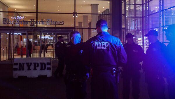 La policía de Nueva York, EEUU - Sputnik Mundo