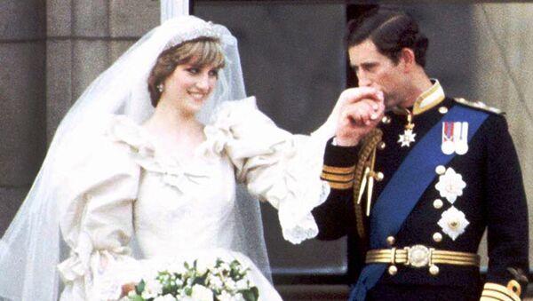 La boda del príncipe Carlos y princesa Diana - Sputnik Mundo