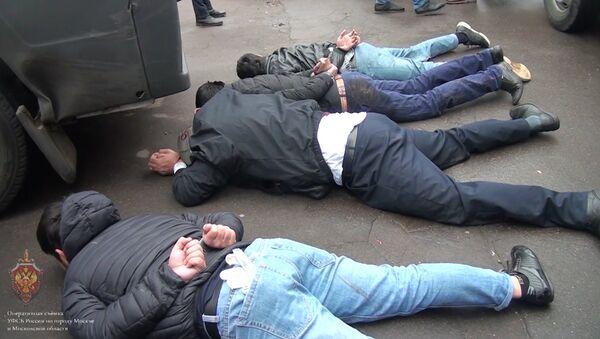 Publican el vídeo de la detención de 18 terroristas del ISIS en Rusia - Sputnik Mundo