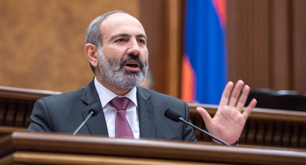 Nikol Pashinián, primer ministro de Armenia