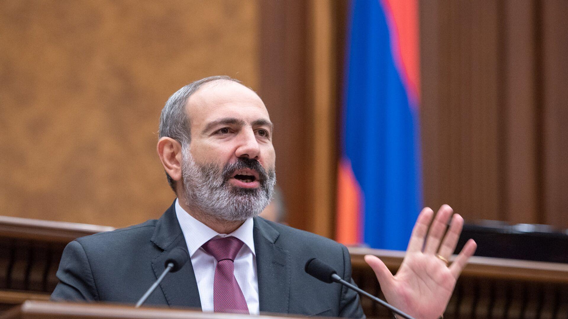 Nikol Pashinián, primer ministro de Armenia - Sputnik Mundo, 1920, 20.06.2021