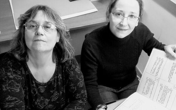 Hermanas cineastas Silvana y Ana María Jarmoluk, realizadoras del documental Volodia - Sputnik Mundo