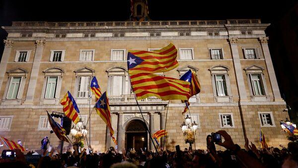 Palau de la Generalitat (sede del Gobierno de Cataluña) - Sputnik Mundo