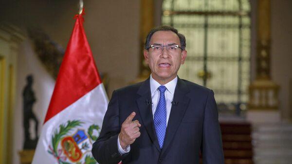 Martín Vizcarra, presidente de Perú (archivo) - Sputnik Mundo