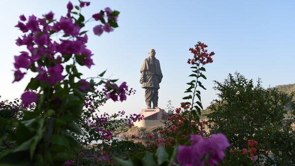 La estatua de la Unidad, la más alta del mundo, en la India - Sputnik Mundo