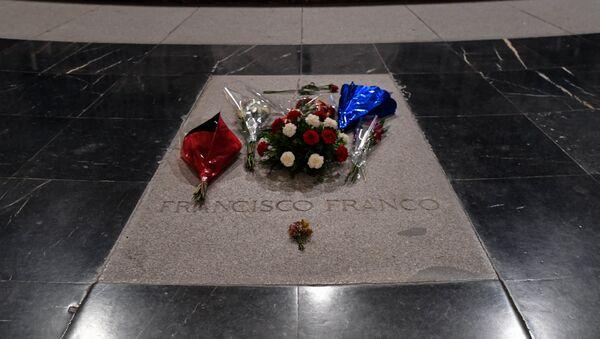 Tumba del dictador español, Francisco Franco - Sputnik Mundo