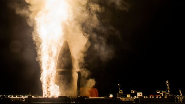 Lanzamiento del Standard Missile-3 Block IIA (archivo) - Sputnik Mundo