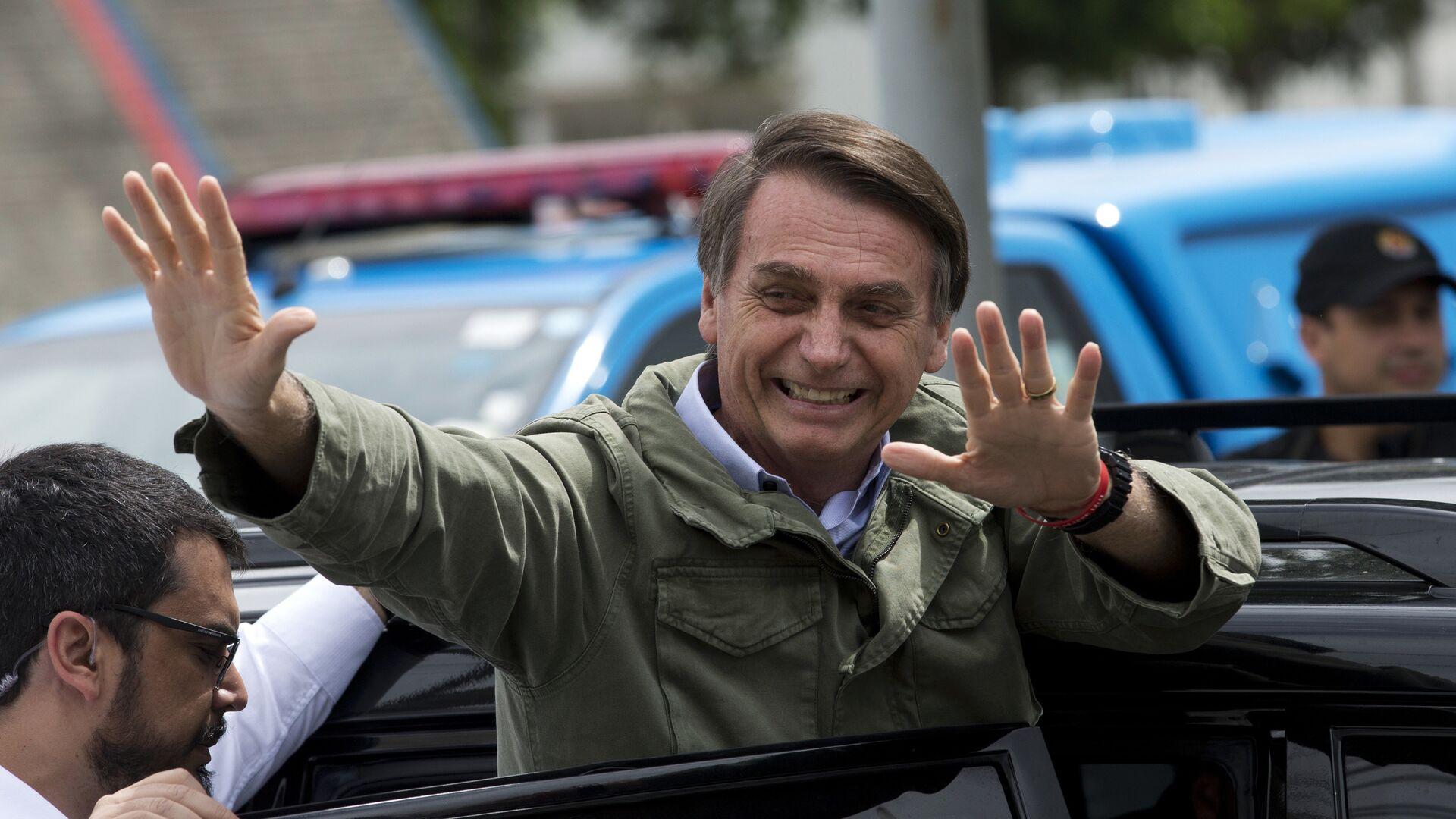 Jair Bolsonaro, presidente electo de Brasil  - Sputnik Mundo, 1920, 09.07.2021