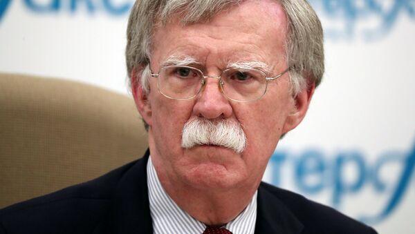 John Bolton, asesor de Seguridad Nacional de la Casa Blanca durante su visita a Rusia - Sputnik Mundo