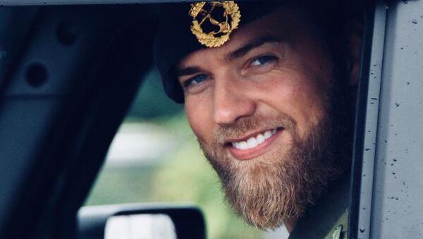 Lasse Lokken Matberg, teniente de la Armada Real de Noruega - Sputnik Mundo