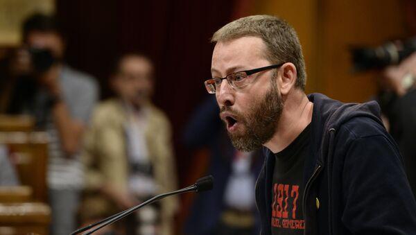 Vidal Aragonés, el diputado de la CUP - Sputnik Mundo