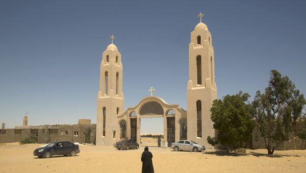 El monasterio copto de San Samuel el Confesor en Egipto (imagen referencial) - Sputnik Mundo