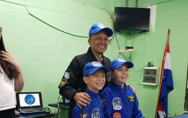 Vinicio Montoya en la Segunda Conferencia Espacial del Paraguay - Sputnik Mundo