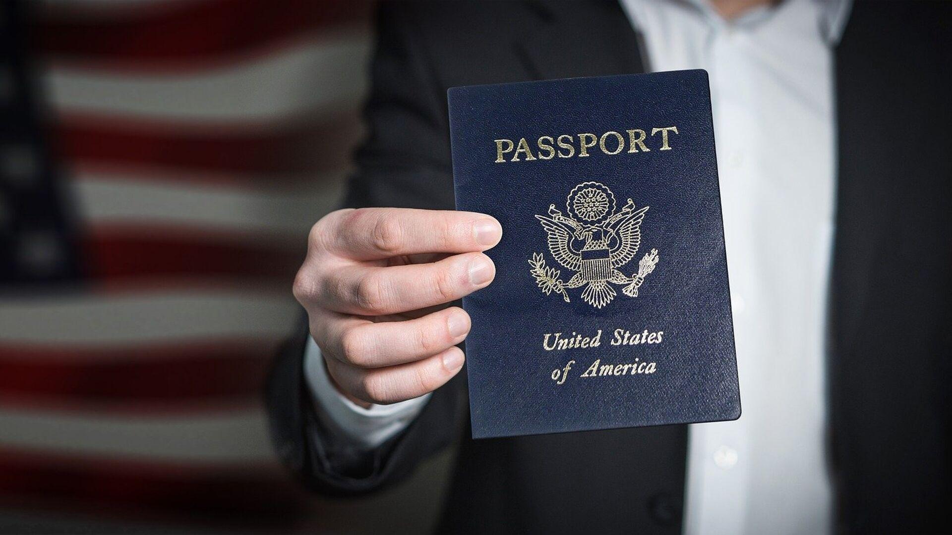 Pasaporte de EEUU  - Sputnik Mundo, 1920, 22.08.2021