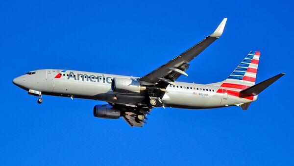 Un avión de American Airlines - Sputnik Mundo