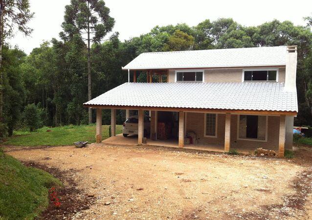 La casa construida por Evandro Balmant
