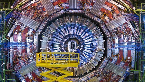El detector de partículas Solenoide compacto de muones (CMS, por sus siglas en inglés) del Gran Colisionador de Hadrones - Sputnik Mundo