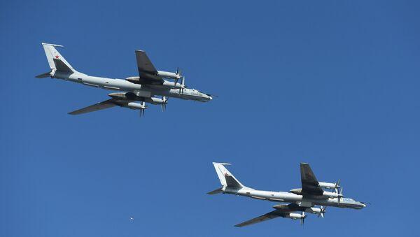 Dos aviones rusos Tu-142 (archivo) - Sputnik Mundo