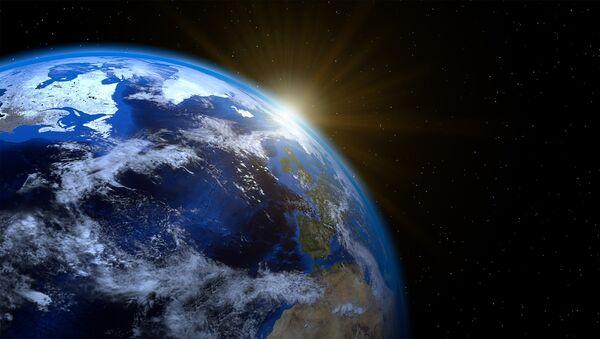 Tierra vista desde el espacio - Sputnik Mundo