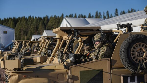 Maniobras militares de la OTAN Trident Juncture 2018 - Sputnik Mundo