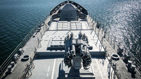 Fragata Almirante Makarov - Sputnik Mundo