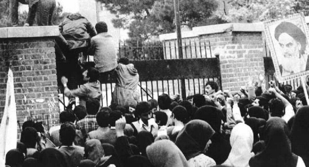 Asalto estudiantil a la embajada de EEUU en Teherán, 4 de noviembre de 1979