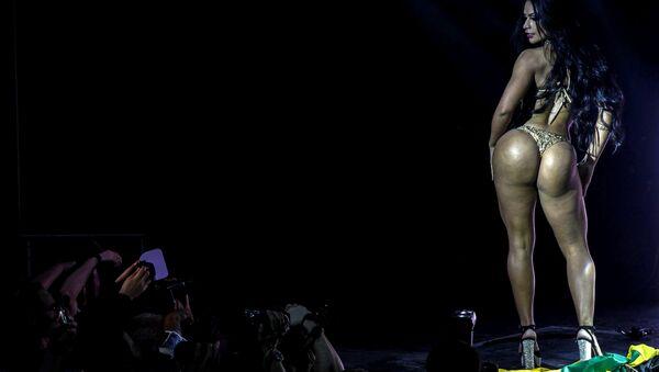 ¡Vaya cuerpazos! La final del concurso Miss Bumbum 2018, en imágenes - Sputnik Mundo