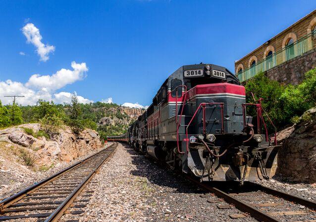 Tren mexicano (imagen referencial)