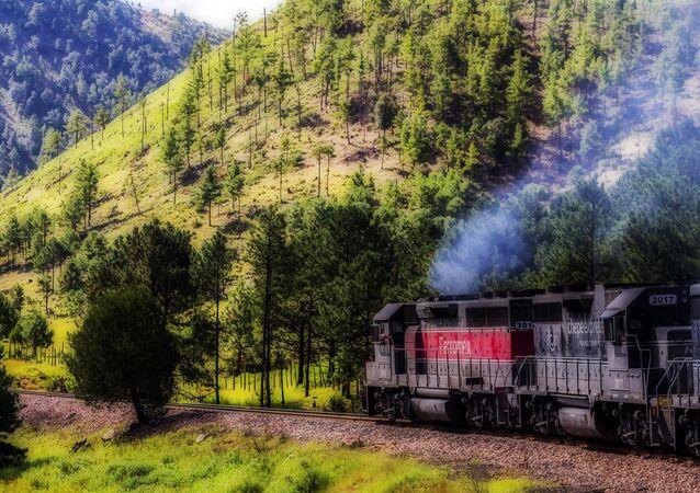 El tren de pasajeros en México