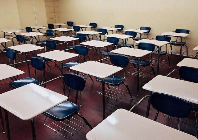 Una escuela, imagen referencial