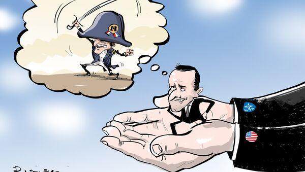 'Napoleón' Macron: el líder francés aboga por la creación de un ejército común europeo - Sputnik Mundo