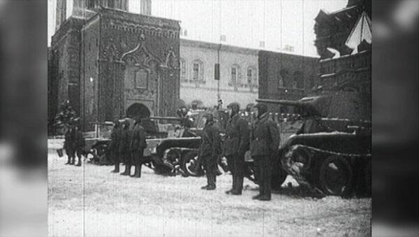 Así fue el desfile de 1941 que celebró la URSS en plena Gran Guerra Patria - Sputnik Mundo