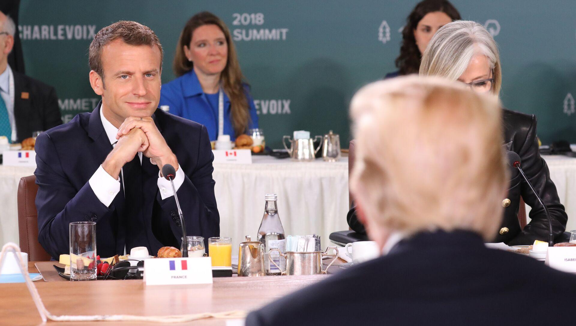 Emmanuel Macron, presidente de Francia - Sputnik Mundo, 1920, 07.11.2018