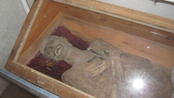 La momia de Franz Xaver Sydler von Rosenegg - Sputnik Mundo